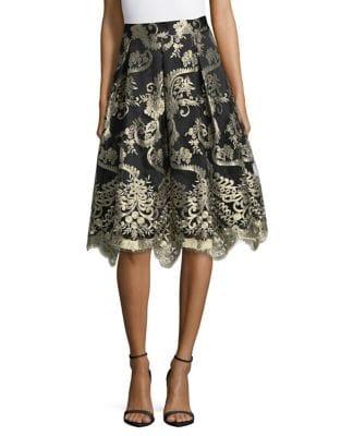 Box Pleat Skirt by Eliza J