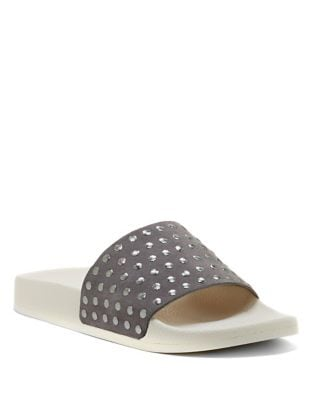 Piyaa Studded Slide Sandal by Lucky Brand