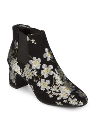 Gorgia Textile Booties by Anne Klein