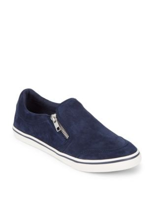 Jeorgia Suede Slim-On Sneakers by Lauren Ralph Lauren