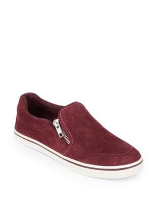 Jeorgia Suede Slip-On Sneakers by Lauren Ralph Lauren