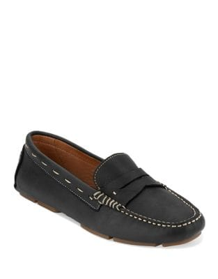 Patricia Leather Driving Moccasins by G.H. Bass