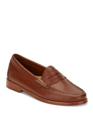 Whitney Weejun Soft Leather Penny Loafers by G.H. Bass