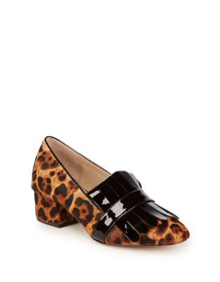 Olive Calf Hair Pumps by Botkier New York