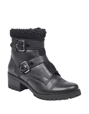Lolly Textured Booties by Anne Klein