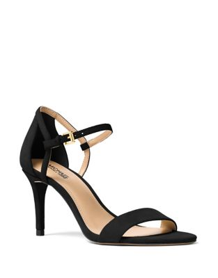 Simone Suede Ankle-Strap Sandals by MICHAEL MICHAEL KORS
