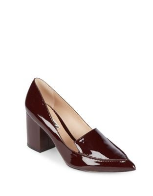 Aressa Patent Leather Point Toe Pumps by Karl Lagerfeld Paris