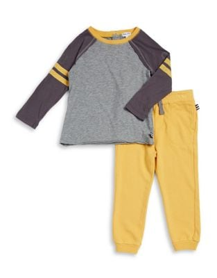 Toddlers TwoPiece Football Shirt  Jogger Set