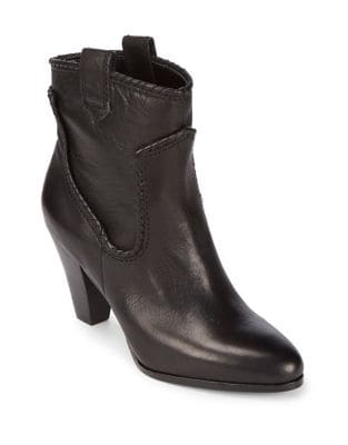 Provence Leather Booties by Karl Lagerfeld Paris