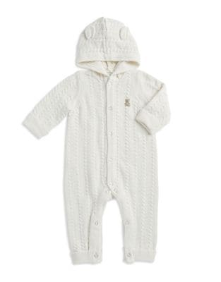 Baby's Hooded Cotton...