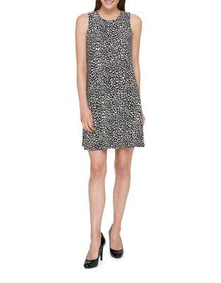Leopard Garden Print Jersey Dress by Tommy Hilfiger