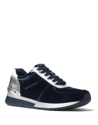 Allie Trainer Velvet Sneakers by MICHAEL MICHAEL KORS