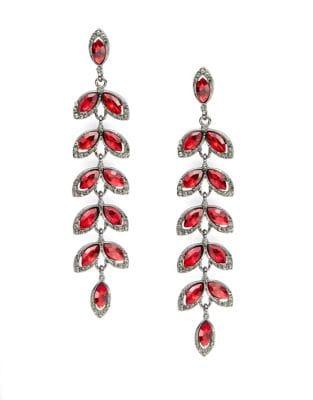 Tiered Petal Drop Earrings 500087333823
