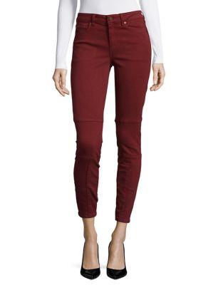 Slim-Leg Cropped Jeans 500087334408