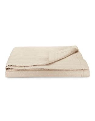 Reed 300 Thread Count Cotton Sateen Coverlet