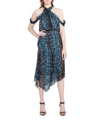 Printed Cold Shoulder Dress by RACHEL Rachel Roy