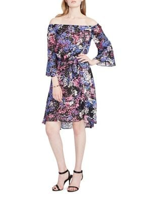 Floral Burnout Off Shoulder Dress by RACHEL Rachel Roy