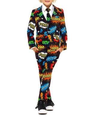 Little Boys TwoPiece Badaboom Suit