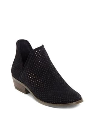 Kambry Suede Ankle Booties by Lucky Brand