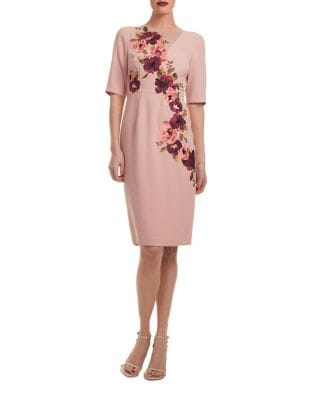 Knightly Floral Bodycon Dress by Trina Turk