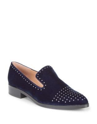 Edna Velvet Loafers by Sigerson Morrison
