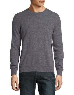 Cashmere Crewneck Sweater...