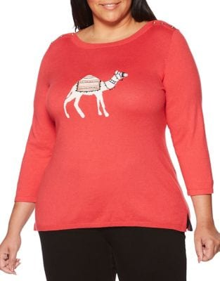 Plus Plus Camel Knitted...