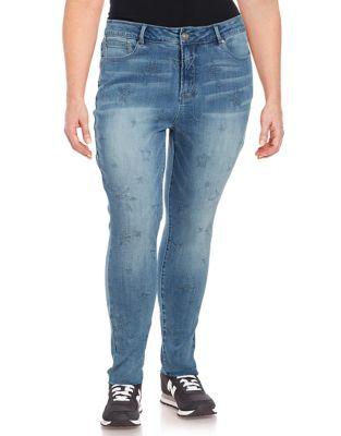 Plus Plus Tailored Denim Jeans 500087345725