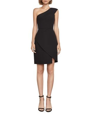 One-Shoulder Asymmetrical Cocktail Dress by BCBGMAXAZRIA