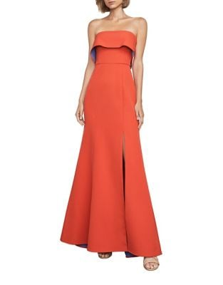 Straight Across Gown by BCBGMAXAZRIA