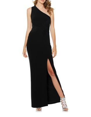Floor-Length One Shoulder Bodycon Dress by Laundry by Shelli Segal