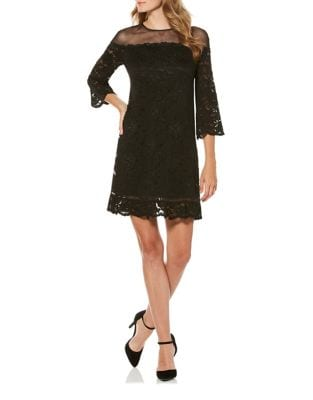 Stretch Lace Sheath Dress by Laundry by Shelli Segal
