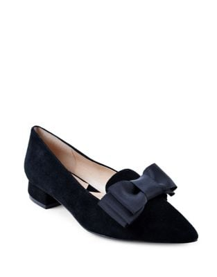 Ficke Kid Suede Pumps by Adrienne Vittadini