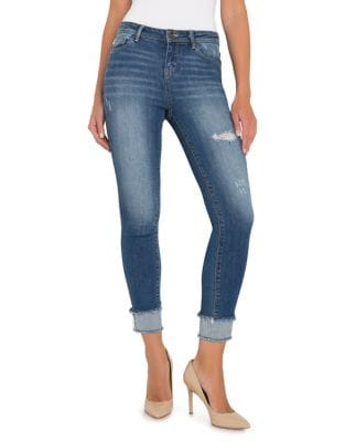 Emily Mid-Rise Ankle Skinny Jeans 500087360312