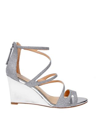 Yarden Wedge Sandal by Belle Badgley Mischka