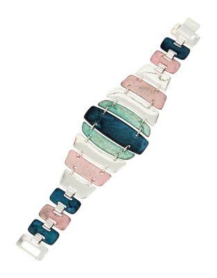 Iridescencece Patina Link Bracelet 500087361138