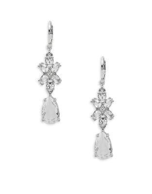 Take A Shine Crystal Drop Earrings 500087362353