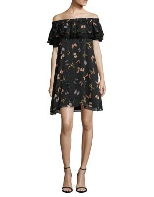 Off-the-Shoulder Shift Dress by Sam Edelman