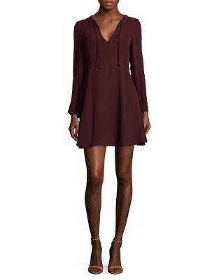 Long-Sleeve A-Line Dress by Sam Edelman