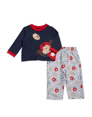 Two-Piece Football Monkey Top and Pants Set 500087367867