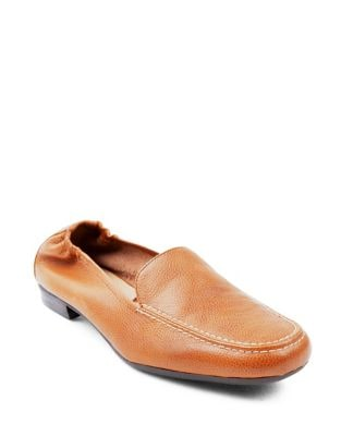 Angela Cogle Leather Loafers by Adrienne Vittadini