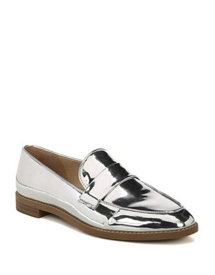 Hudley Metallic Loafers by Franco Sarto