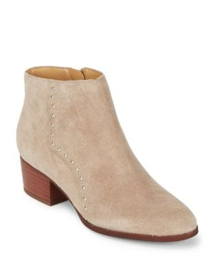 Elysse Tanex Leather Booties by Franco Sarto