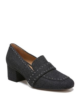 Lance Textile Studded Loafers by Franco Sarto