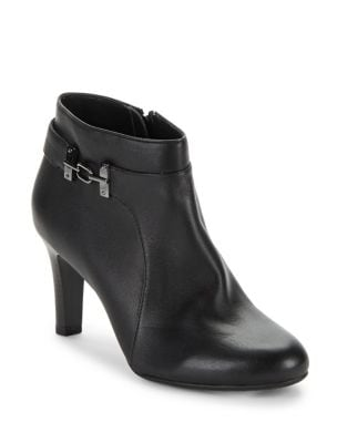 Lappo Leather Booties by Bandolino