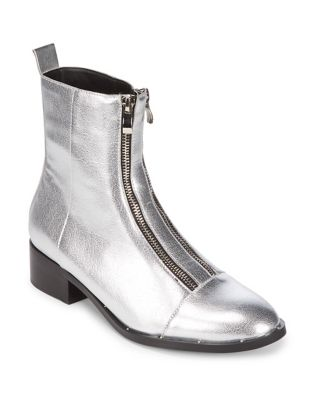 Duplex Faux Leather Zipper Boots by Design Lab Lord & Taylor