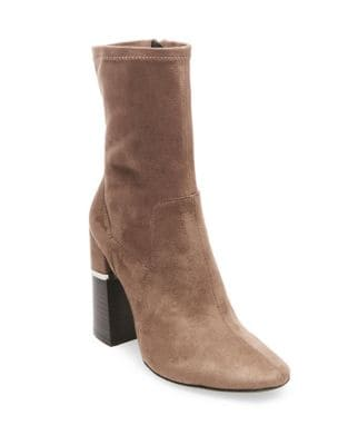 Melina Suede Booties by Design Lab Lord & Taylor