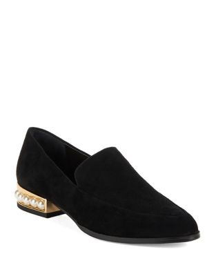 Valencia Suede Loafers by 424 Fifth