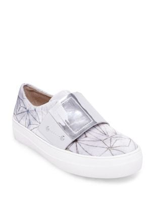 Sari Velvet Sneakers by Design Lab Lord & Taylor