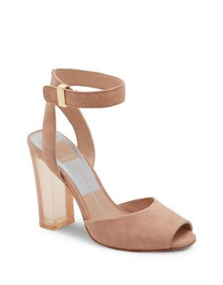 Hades Suede Ankle-Strap Sandals by Dolce Vita